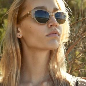 Garrett Leight Del Rey Sunglasses Blonde